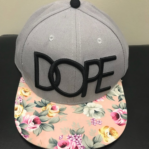 e137f7276b912 dope couture Accessories - Dope Couture Hat SnapBack Flowers